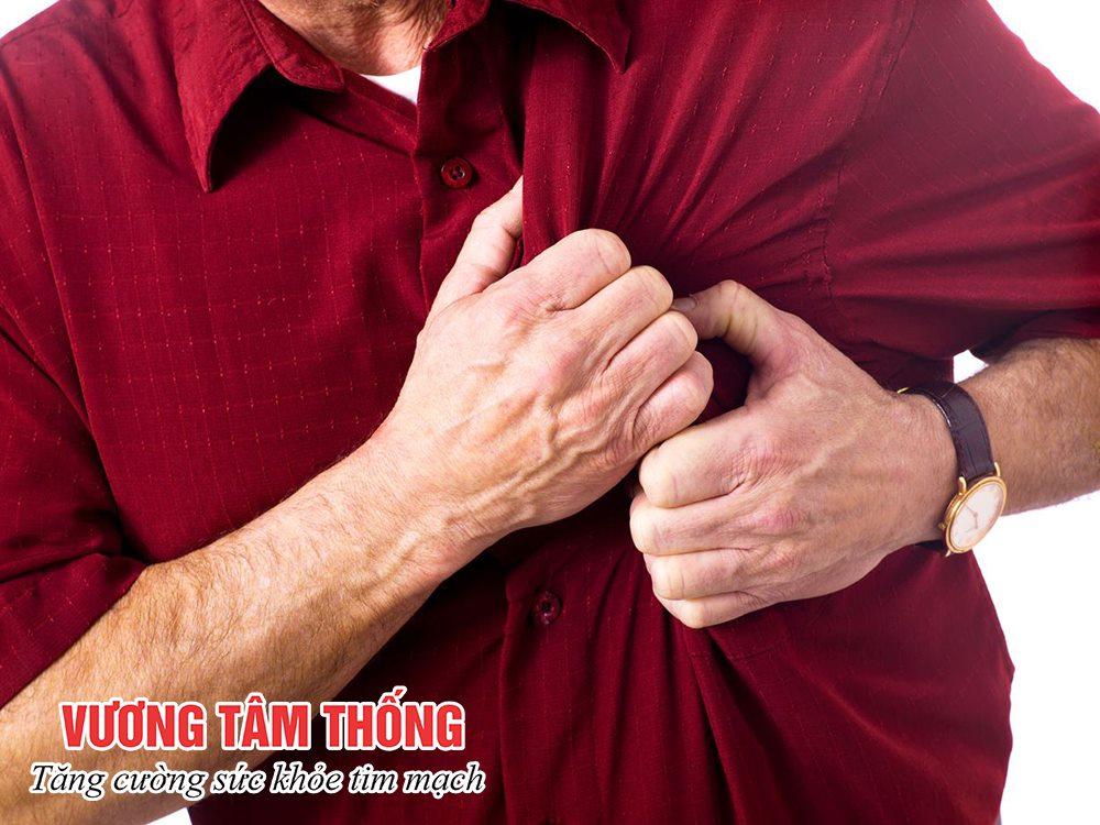 Đau thắt ngực là triệu chứng điển hình nhất của bệnh mạch vành